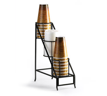 Cal-Mil 1452 Iron Cup and Lid Display, 5