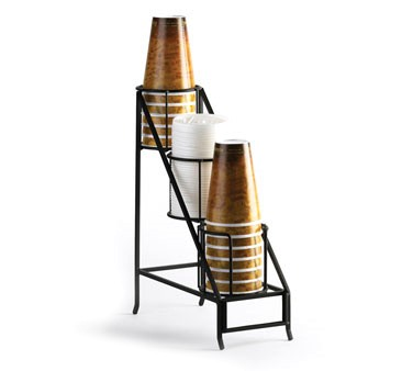 """Cal-Mil 1452 Iron Cup and Lid Display 5"""" x 12"""" x 15"""""""
