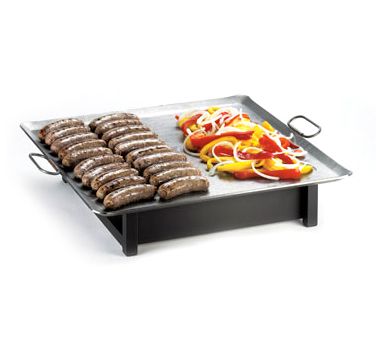 "Cal-Mil 1461 Square Action Station Chafer Griddle, 23"" x 23"""