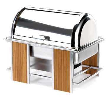 Cal-Mil 1473 Eco Modern Roll Top Chafer 9 Qt.