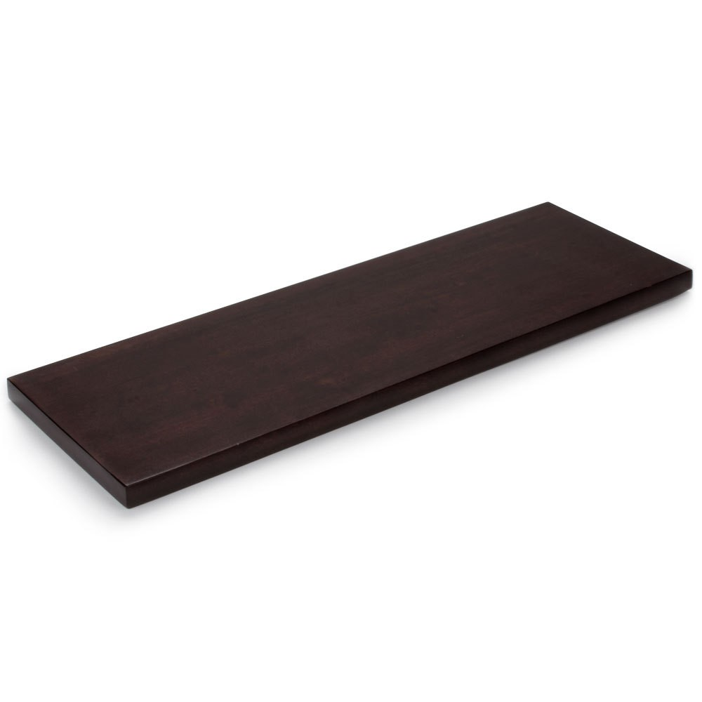 Cal-Mil 1481-20-52 Dark Wood Flat Tray, 20-1/2