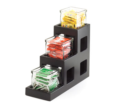 Cal-Mil 1486-96 Midnight Three Tier Jar Display 5