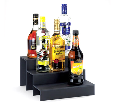 Cal-Mil 1491-69 3 Step Granite Acrylic Bottle Display