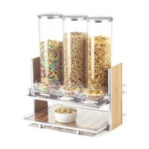 Cal-Mil 1499 Eco Modern Cereal Dispenser with 3-Bins