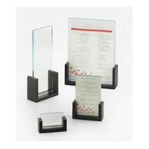 Cal-Mil 1510-411-96 Midnight U-Frame Menu / Card Holder, 4