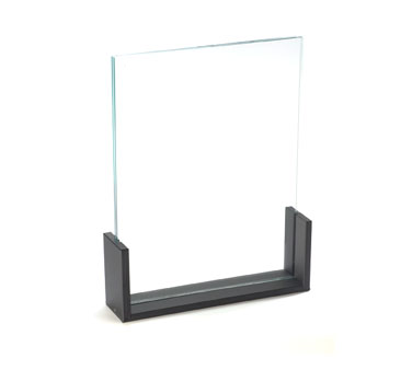 Cal-Mil 1510-811 U-Frame Acrylic Menu / Card Holder, 8-1/2