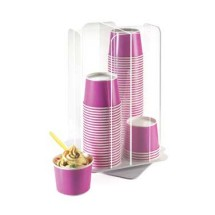 Cal-Mil 1539-12 Revolving Cup Dispenser, Clear Acrylic 10