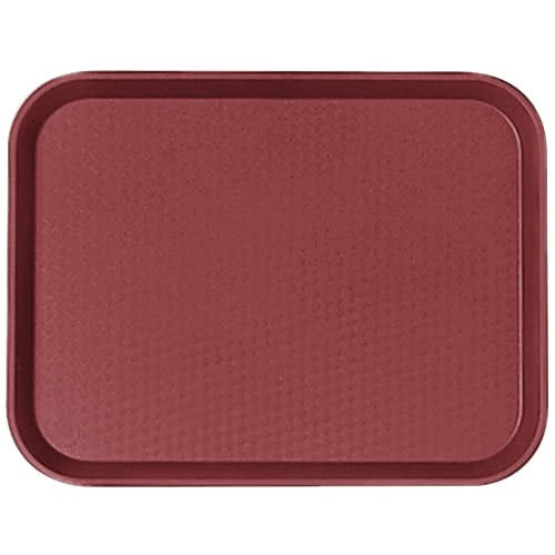 Cambro 1014FF416 Cranberry Fast Food Tray 10
