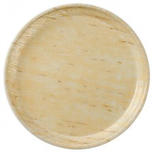 "Cambro 1100203 Camtray Decorator Grass Mat Round Fiberglass 11"" Serving Tray - 1 doz"