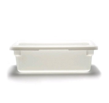 "Cambro 12186P148 12"" x 18"" x 6"" Poly Food Storage Box - 1/2 doz"