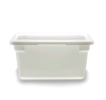 "Cambro 12189P148 12"" x 18"" x 9"" Poly Food Storage Box - 1/2 doz"
