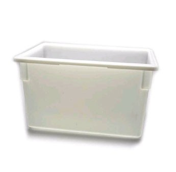 "Cambro 182615P148 18"" x 26"" x 15"" Poly Food Storage Box - 3 pcs"