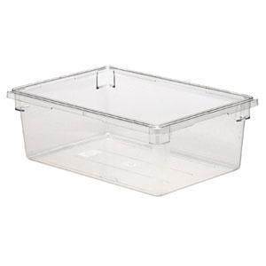 "Cambro 18269CW135 Camwear 18"" x 26"" x 9"" Clear Food Storage Box - 4 pcs"