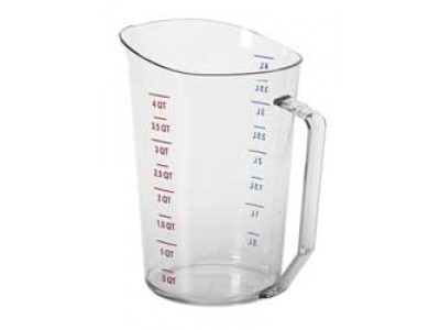 Cambro 400MCCW135 Liquid Measuring Cup 4 Qt.
