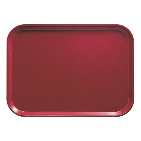 Cambro 46505 Cherry Red Fiberglass Camtray 4 1/4