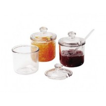Cambro CJ80CW135 8 oz. Condiment Jar with Cover