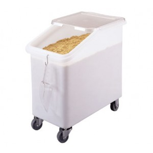 Cambro IBS27148 White 27 Gallon Ingredient Bin