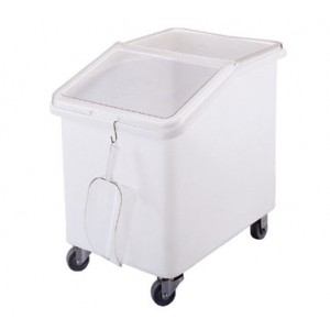 Cambro IBS37148 White 37 Gallon Ingredient Bin