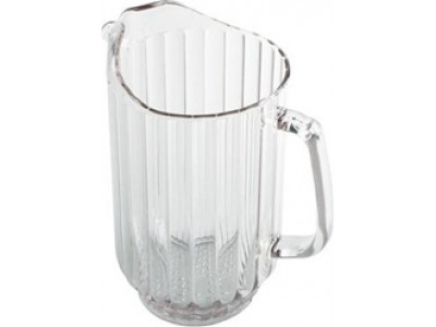 Cambro P600CW135 60 oz Clear Water Pitcher