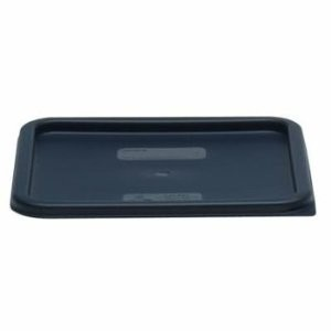 Cambro SFC12453 Midnight Blue Square Lid for 12, 18, and 22 Qt. Containers