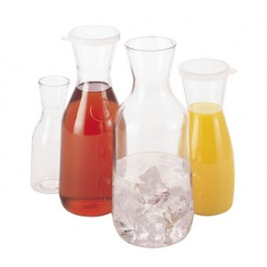 Cambro WW1500CW13 1-1/2 Liter Beverage Decanter - 1 doz
