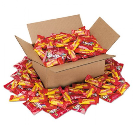 Office Snax Candy Assortments, Skittles/Starburst, 5 lb Box