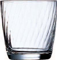 Cardinal 20885 Arcoroc Optic Old Fashioned Glass 10.5  oz. - 3 doz
