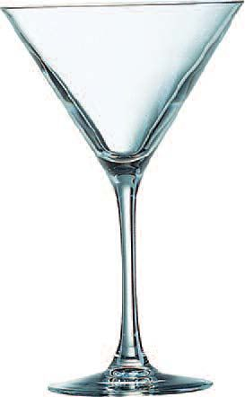 Cardinal 62449 Chef & Sommelier Cabernet Cocktail / Martini Glass 10 oz. - 2 doz