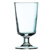 Cardinal 71092 Arcoroc Excalibur Footed Hi-Ball Glass 8 oz. - 3 doz