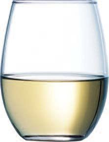 Cardinal C8303 Arcoroc Perfection Stemless Wine Glass 15 oz. - 1 doz