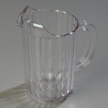 Carlisle 553807 Clear Plastic Pitcher 48 oz.