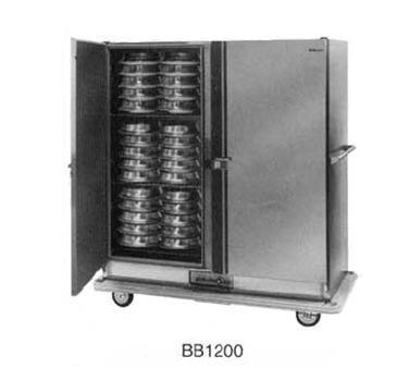 Carter-Hoffmann BB1200 Convertible Carter Mobile Banquet Cart, 120-Plate Capacity