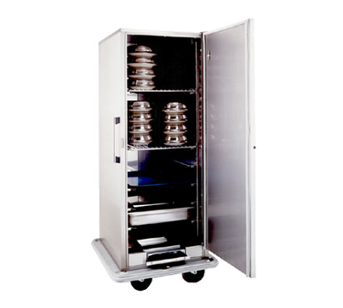 Carter-Hoffmann BB1824 Space-Saver Convertible Carter™ Banquet Cart, 24 Plate Capacity
