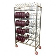 Carter-Hoffmann BSR90 Induction Base Drying Rack, 90 Capacity