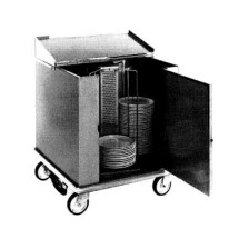 Carter-Hoffmann CD260H Heated Dish Storage Cart, 252-Dividers for 12.5