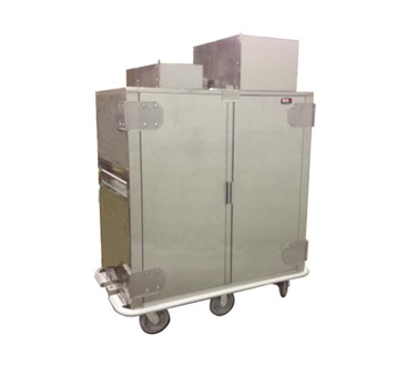 Carter-Hoffmann CRR120 Correctional Transport Cart Dual- Refrigerated Compartments