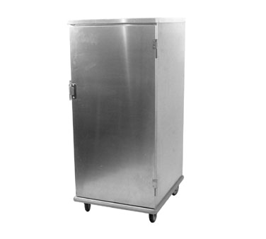 Carter-Hoffmann E8610V Enclosed Storage Cabinet with Hinged Doors, Unheated, Universal Pan Slides