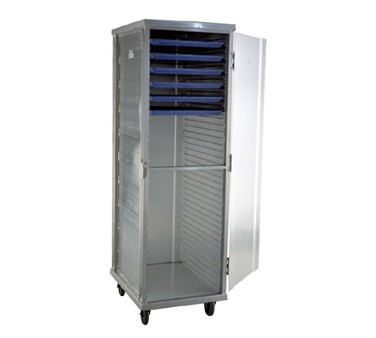 Carter-Hoffmann E8639 Enclosed Cabinet with Hinged Doors, Extruded Side Panels, 39-Trays
