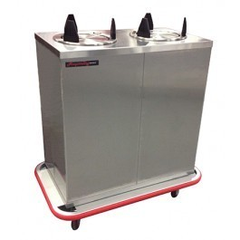 Carter-Hoffmann EPDHT2S10 Heated Enclosed Plate Dispenser for 10