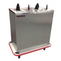 Carter-Hoffmann EPDHT2S9 Heated Enclosed Plate Dispenser for 9