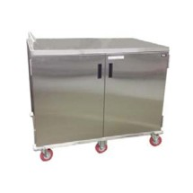 Carter-Hoffmann ETDTT24 Economy Patient Tray Cart, Two Door, 24-Tray Capacity