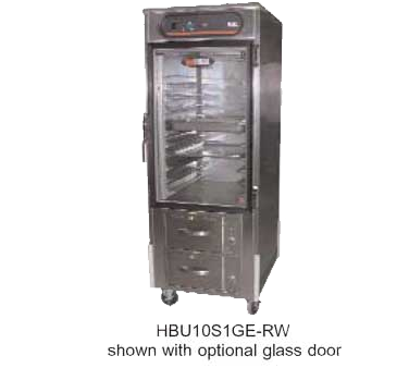 Carter-Hoffmann HL8-10-RW Heated Holding Cabinet with Drawer Warmers