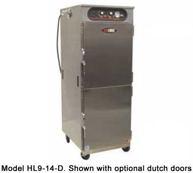 Carter-Hoffmann HL9-14 hotLOGIX Humidified Holding Cabinet, 3/4 Height