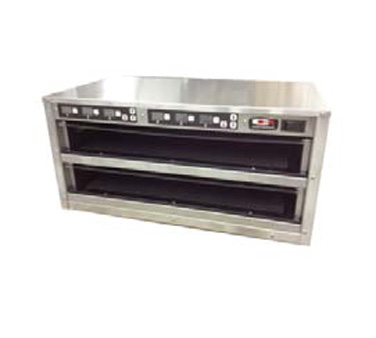 Carter-Hoffmann MZ212S-2T Modular Holding Cabinet for Moist / Fried Food