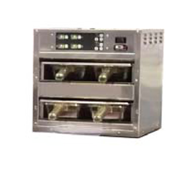 Carter-Hoffmann MZ223S-2T Modular Holding Cabinet for Moist / Fried Food