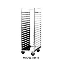 Carter-Hoffmann O8618W Side Load Pan Rack with Open Sides, 18 Trays,