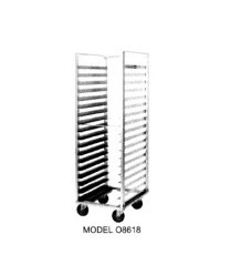 Carter-Hoffmann O8620D End Load Pan Rack with Open Sides, 20 Trays