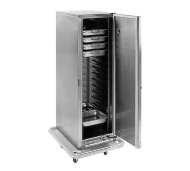 Carter-Hoffmann PH1200 Mobile Heated Cabinet with Removable Slides, 16 Pans