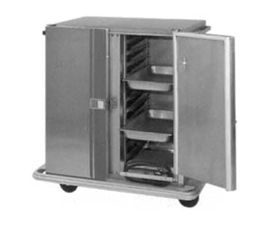 Carter-Hoffmann PH1215 Mobile Heated Cabinet with Removable Slides, 21 Pans