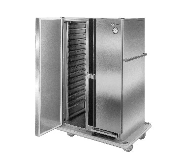 Carter-Hoffmann PH1225 Mobile Heated Cabinet with Removable Slides, 33 Pans